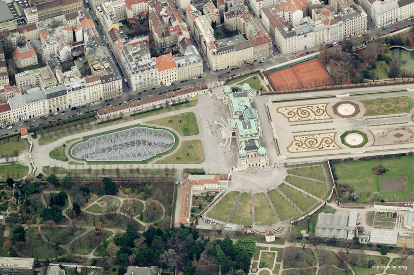 GMMK  Gert M. MAYR-KEBER ZT-GmbH Belvedere Extension 2006 city image by bing