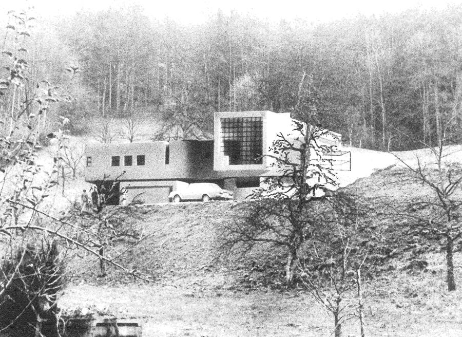 GMMK , Gert M. MAYR-KEBER ZT-GmbH. Haus Erne 1976