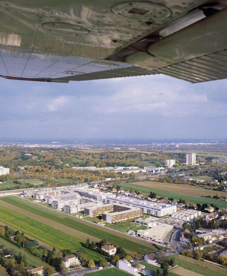 GMMK , Foto: Elisabeth Mayr-Keber , Gert M. MAYR-KEBER ZT-GmbH. Thermensiedlung Oberlaa 1994-1999
