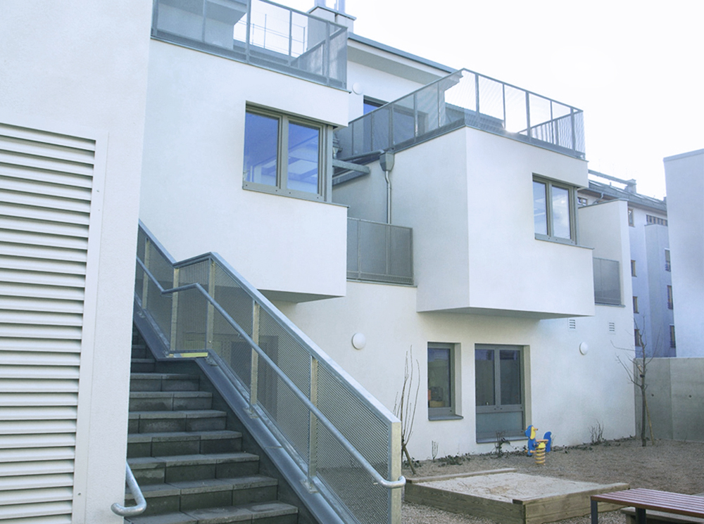 GMMK, Gert M. Mayr-Keber ZT-GmbH, Wohnhaus in Stadlau, 2011-2014, Photo: DI Christian Berger