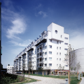 GMMK , Foto: Elisabeth Mayr-Keber , Gert M. MAYR-KEBER ZT-GmbH. Innovativer Wohnbau am Laaerberg 1999-2002
