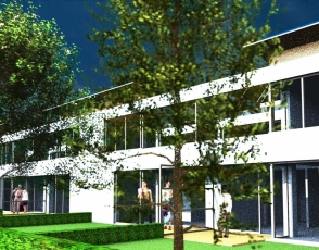 GMMK , Gert MAYR-KEBER ZT-GmbH. Reihenhausanlage in Kottingbrunn 2006-2007