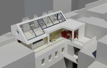 GMMK , Gert M. MAYR-KEBER ZT-GmbH. attic conversion dominikanerbastei, 2008-2010