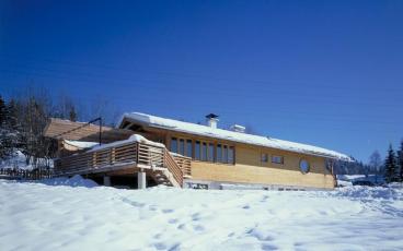 GMMK . Gert M. Mayr-Keber ZT GmbH . 1988 . Holiday Home in Carinthia . Photography Elisabeth Mayr-Keber